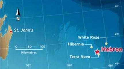 St. John's Newfoundland & Labrador Oil Fields
