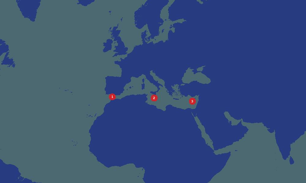 Teekay-ship-to-ship-Mediterranean-map