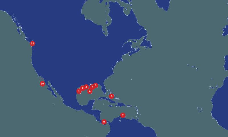 Teekay-ship-to-ship-americas-map