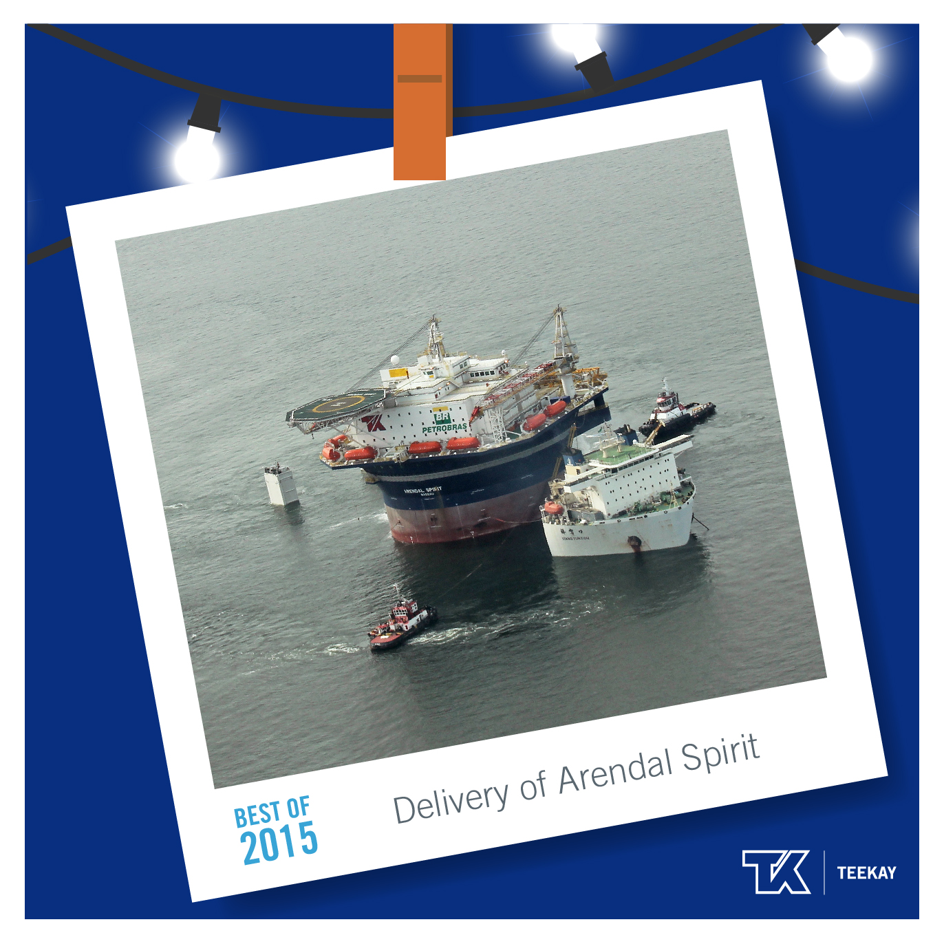 #2 Delivery of Arendal Spirit