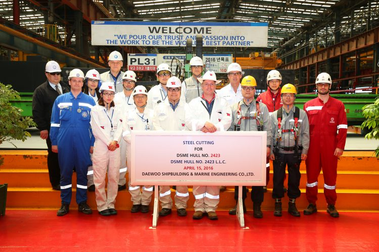 Steel Cutting Ceremony of Eduard Toll