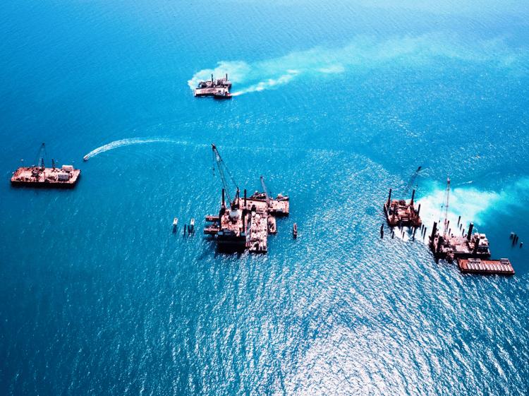 Bahrain LNG Offshore Site