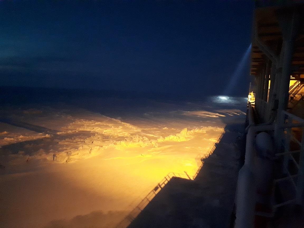 Арктическая проходка к порту Сабетта